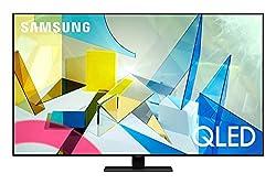 Image of SAMSUNG 55-inch Class QLED Q80T Series - 4K UHD Direct Full Array 12X Quantum HDR 12X Smart TV with Alexa Built-in (QN55Q80TAFXZA, 2020 Model): Bestviewsreviews