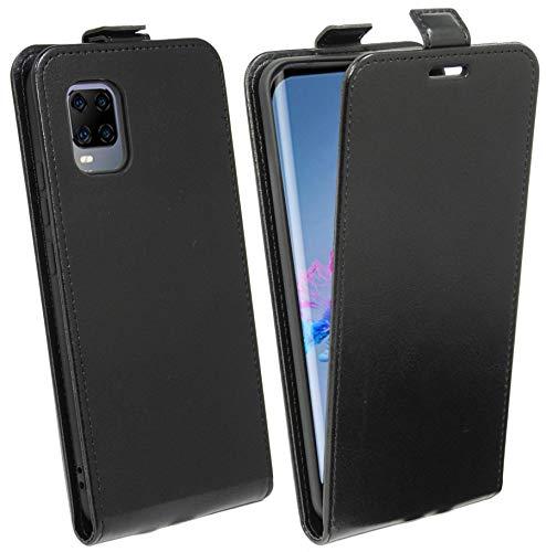 cofi1453® Flip Hülle kompatibel mit ZTE AXON 11 Handy Tasche vertikal aufklappbar Schutzhülle Klapp Hülle Schwarz