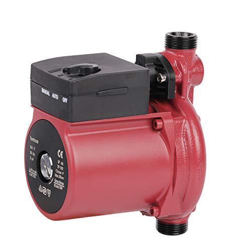 SHYLIYU Pompa di ricircolo Acqua Calda Pompa Acqua di trasferimento Domestica 100w 1800L / H Pompa di Pressione dell'Acqua Automatica e Manuale