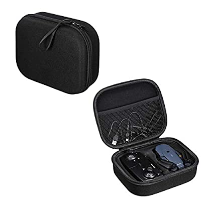Kismaple Hardshell Carrying Case for EACHINE E58 Drone Controller Propellers Accessories Storage Box Bag