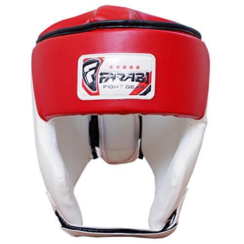 Farabi Junior Casco da Boxe, MMA, Muay Thai Kick Boxing UFC Testa Protezione XS