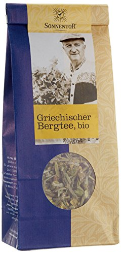 Sonnentor Griechischer Bergtee lose, 1er Pack (1 x 40 g) - Bio