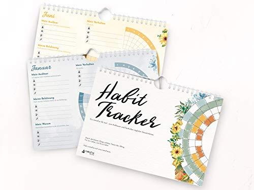 metaFox Gewohnheiten Tracker - Habit Tracker Kalender mit Spiralbindung für eine gesunde Routine und Gewohnheiten ändern | Inspiriert durch das Habit Loop-Modell von Charles Duhigg
