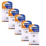 LR926 LR57 AG7 G7 395 SR927W 1.5V Button Coin Cell Watch Batteries 10 Pcs