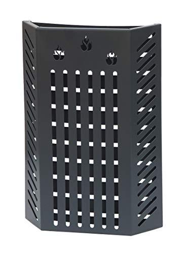 KALAMI' 2.5: Kaminschutzgitter, Ofenschutzgitter, Kinderschutz, Schutzgitter für Kinder, Absperrgitter doppelter Sicherheitsschirm, Gezeichnet von Firestyle ®, 100% in Italien hergestellt.