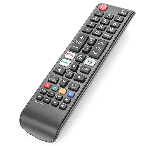 Gvirtue BN59-01315A Remote Control Replacement for Samsung-Smart-TV-Remote All Samsung LED QLED LCD 6/7/8/9 Series 4K UHD HDTV HDR Flat Curved Smart TV, with Netflix, Prime Video and Hulu Button