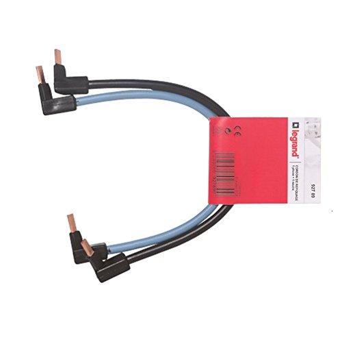 Legrand 092789 Cordon de Repiquage Phase + Neutre, 10mm² Section, 270mm Longueur, Multicolore