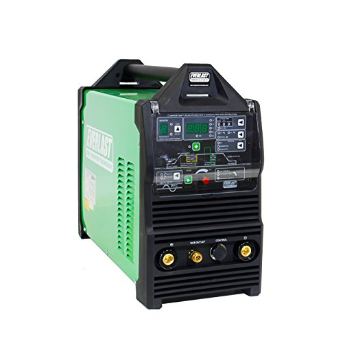 2019 Everlast PowerTIG 210EXT 210amp Ac Dc Tig Stick Advance Pulse Welder 110/220 Volt Inverter-based IGBT Technology