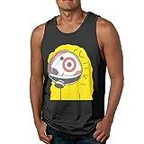 Oifaemo Sarths Hazmat Bullseye Target Men's Leisure Tank Top Shirt XL Black