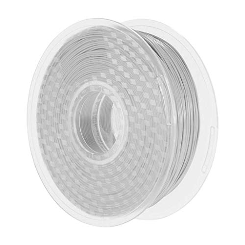 CLJ-LJ Prima de PETG 3D filamento Impresora - 1 kg / 2,2 Libras - 1,75 mm (Blanco)