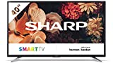 Sharp 40BG5E - Smart TV FHD de 40' (resolución 1920 x 1080, 3 x HDMI, 2 x USB), color negro