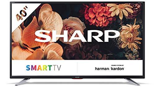 Sharp Aquos LC-40BG5E - 40  Smart TV Full HD LED, Wi-Fi, DVB-T2 S2, 1920 x 1080 Pixels, Nero, suono Harman Kardon, 3xHDMI 2xUSB, 2019