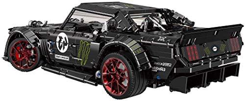 AMITAS 2493 Teile Custom Bausteine mit Power Functions Technik Bauspiel Sportwagen Bauset Rennwagen Kompatibel mit Großen Marken