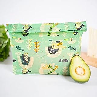 FSHB Emballage de Cire d'abeille réutilisable Sac de Conservation en Tissu Cuisine Fruits Aliments Légumes Sécurité Sacs d...