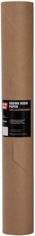 Grip-Rite 3 ft. W x 144 Rosin Max 80% OFF Brown L OFFicial shop Paper