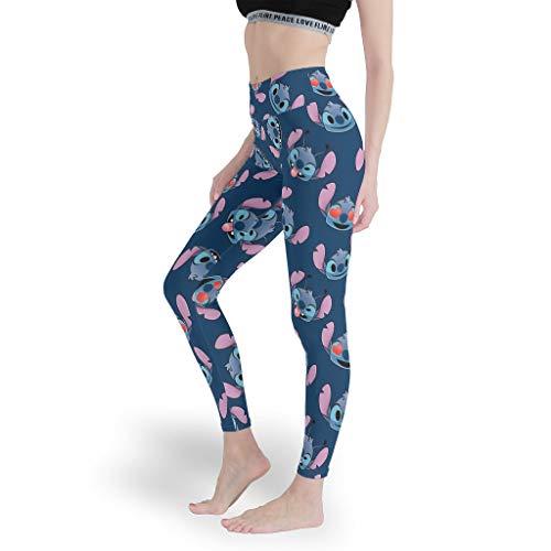 stitchy Liebe Herz Mädchen Mehrfarbig Leggings Neuheit Aktiv Yoga Hosen Weich Capris Tights für Pilates Gym White xs