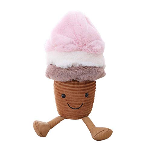 WJTMY Haustier-Plüsch-Haustier-Spielzeug-Früchte, kleine Kuchen, Eiscreme zusammendrückbar, niedlich, weich, entzückend (Size : 45cm)