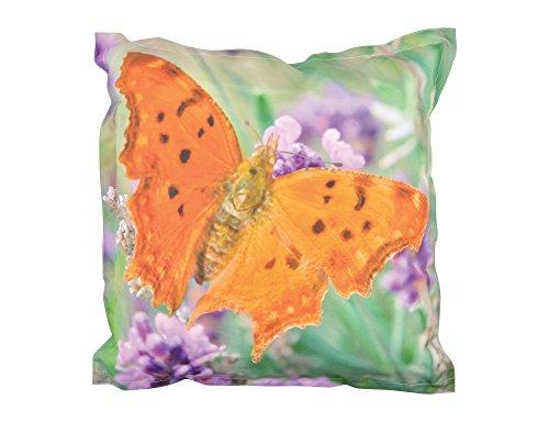 Fallen Fruits Grand Coussin d'extérieur Motif Papillon