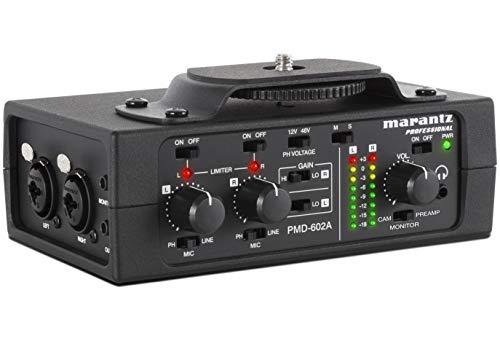 Marantz PMD-602A DSLR Audio Interface