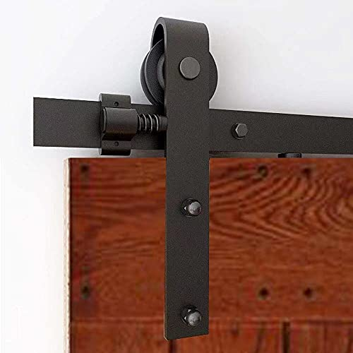 QINAIXQM 6FT Kit de accesorios para puerta de granero traslacional de servicio...