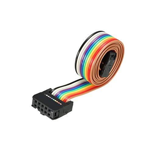 Cable plano flexible de 10 pines para cable de pantalla LCD, impresora...
