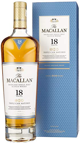 Macallan Fine Oak 18 Years Old mit Geschenkverpackung Whisky (1 x 0.7 l)
