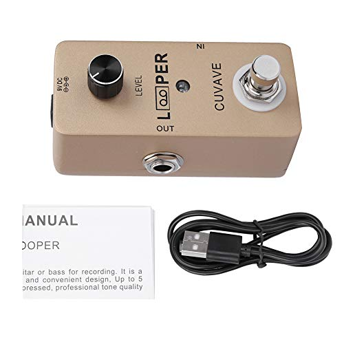 Mini Looper Pedal Portable Durable Guitar Pedal for Guitar Enthusiasts