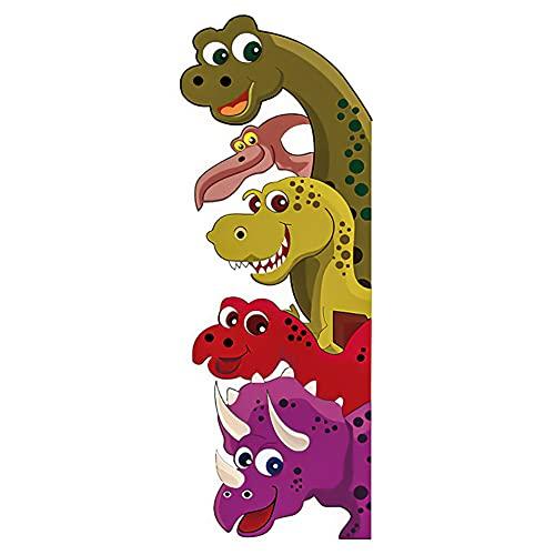 Vinilos Dinosaurios Infantiles Pared,Vinilos Dinosaurios Pared,Pegatinas de Pared de Dinosaurios,Adhesivos de Pared Decorativos Niño,Pegatinas de Dinosaurios para Niños,Pegatinas de Pared 3d (Z)