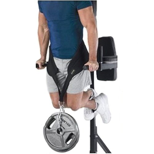 Realizzata in materiali di alta qualità per un'ottima resistenza e durata. Assicura il comfort durante gli allenamenti impegnativi. La catena regolabile è compatibile con le regolazioni di pesi semplici e veloci. Da usare durante gli affondi, le traz...