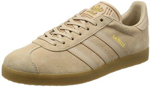adidas Herren Gazelle Laufschuhe, Beige (Clay Brown/Clay Brown/Gum 3), 40 2/3 EU