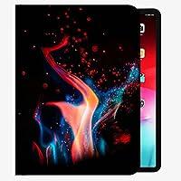 ケースフィットiPad Pro 9.7インチ2016リリースタブレットのみ(A1673 / A1674 / A1675)、Fire Flame Sparks 3ケーススリムシェルカバーIPAD Pro 9.7