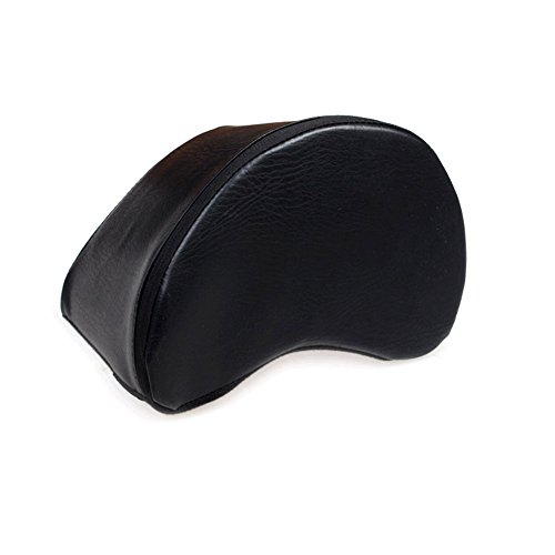 Guitar Cushion PU Leather Cover Built-in Sponge Contoured Guitar Bass Cushion Padded Support for Classical Acoustic Electric Guitar Players Guitarist Musical Instruments Accessories Tool