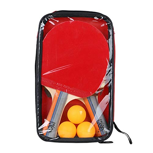 Great Features Of ZKWSJNGD 1 Set of Non-Slip Grip Table Tennis Racket Table Tennis Racket and Tennis...