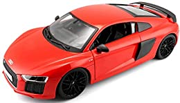 Highly detailed die-cast precision models, die-cast metal body with plastic parts Opening doors, hood or trunk on most styles, adjustable seat back on most models Full function steering and four wheel suspension Detailed chassis with separate exhaust...
