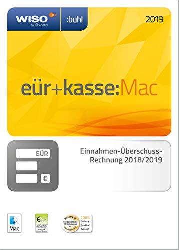 WISO eür+kasse:Mac 2019: Für die Einnahmen-Überschuss-Rechnung 2018/2019 inkl. Gewerbe- und Umsatzsteuererklärung | Mac | Mac Aktivierungscode per Email