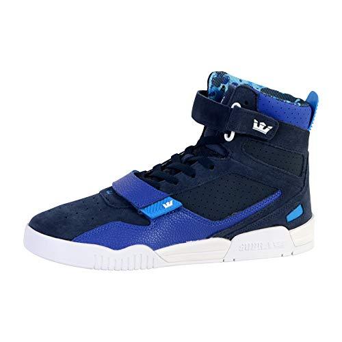 Supra Unisex Breaker Hohe Sneaker, Blau (Navy/Royal-White 425), 40.5 EU