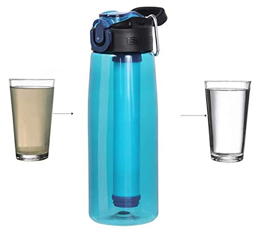 Bottiglia d'acqua,Bottiglia Filtrante Bottiglia...