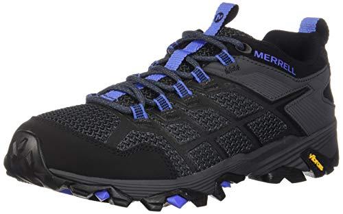 Merrell Women's Moab FST 2 Hiking Shoe, Black/Granite, 06.0 M US