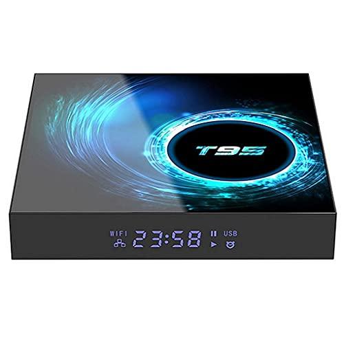 Smart TV Box T95 2,4 g WiFi Set Top Box 4GB 32GB 5.0 múltiples Idiomas para Android económico práctico