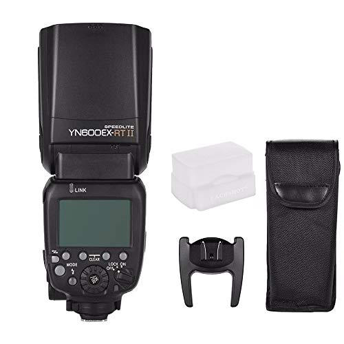 YONGNUO Updated YN600EX-RT II Wireless Flash Speedlite with Optical Master and TTL HSS for Canon AS Canon 600EX-RT w/EACHSHOT Diffuser