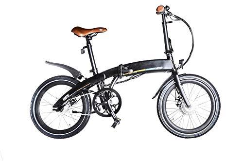 Ombike 2020. Bicicleta eléctrica plegable de 20 pulgadas, plegable, bicicleta de ciudad, con permiso de circulación, segura para el tráfico, para camping, unisex, batería de iones de litio LG