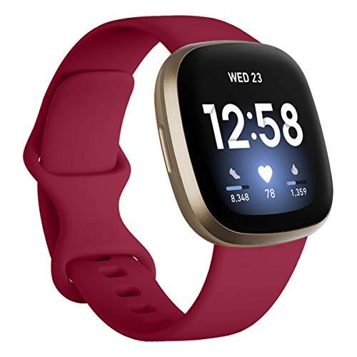 Vobafe Correa Compatible con Fitbit Versa 3 Correa/Fitbit Se