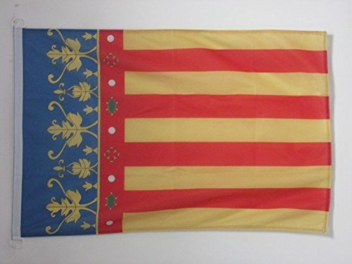 AZ FLAG Bandera de la Comunidad Valenciana 150x90cm Uso