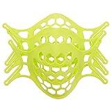 MILISTEN 3 Piezas Verde 3D Soporte para Cubrir La Cara Proteger Los Labios Pintalabios Soporte Interno Marco Nariz Respirar Suavemente Diy Accesorios para Cubrir La Cara
