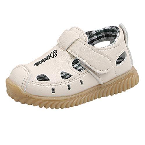 Fannyfuny Kinderschuhe Jungen Geschlossene Sandalen Anti-Rutsch-Weiche Strapazierfähige Wanderschuhe Bequeme Trekkingschuhe Outdoor Strand Wanderschuhe Softshell Schuhe Straßenlaufschuhe Party Schuhe