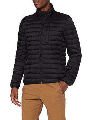 ESPRIT Herren 990EE2G302 Jacke, 001/BLACK, L