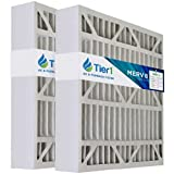 Tier1 24x25x5 Merv 8 Replacement for Bryant...