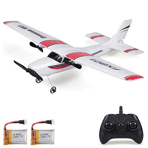 GoolRC FX801 RC Airplane, 2.4GHz 2CH Remote Control Airplane, Cessna 182 Model RC...