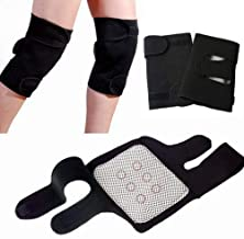 Basic Deal Magnetic Therapy Knee Hot Belt Self Heating Knee pad Knee Support Belt Tourmaline Knee Braces Support Heating Belt - Free size