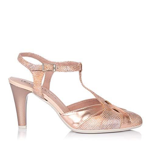PITILLOS 5576 Zapato ASANDALIADO Vestir Mujer Nude